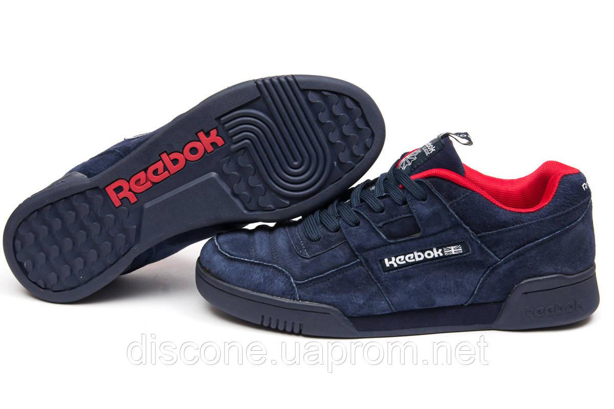 Кроссовки мужские ► Reebok Classic,  темно-синие (Код: 15276) ►(нет на складе) П Р О Д А Н О!