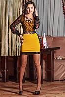Яркое короткое платье 3008, фото 1