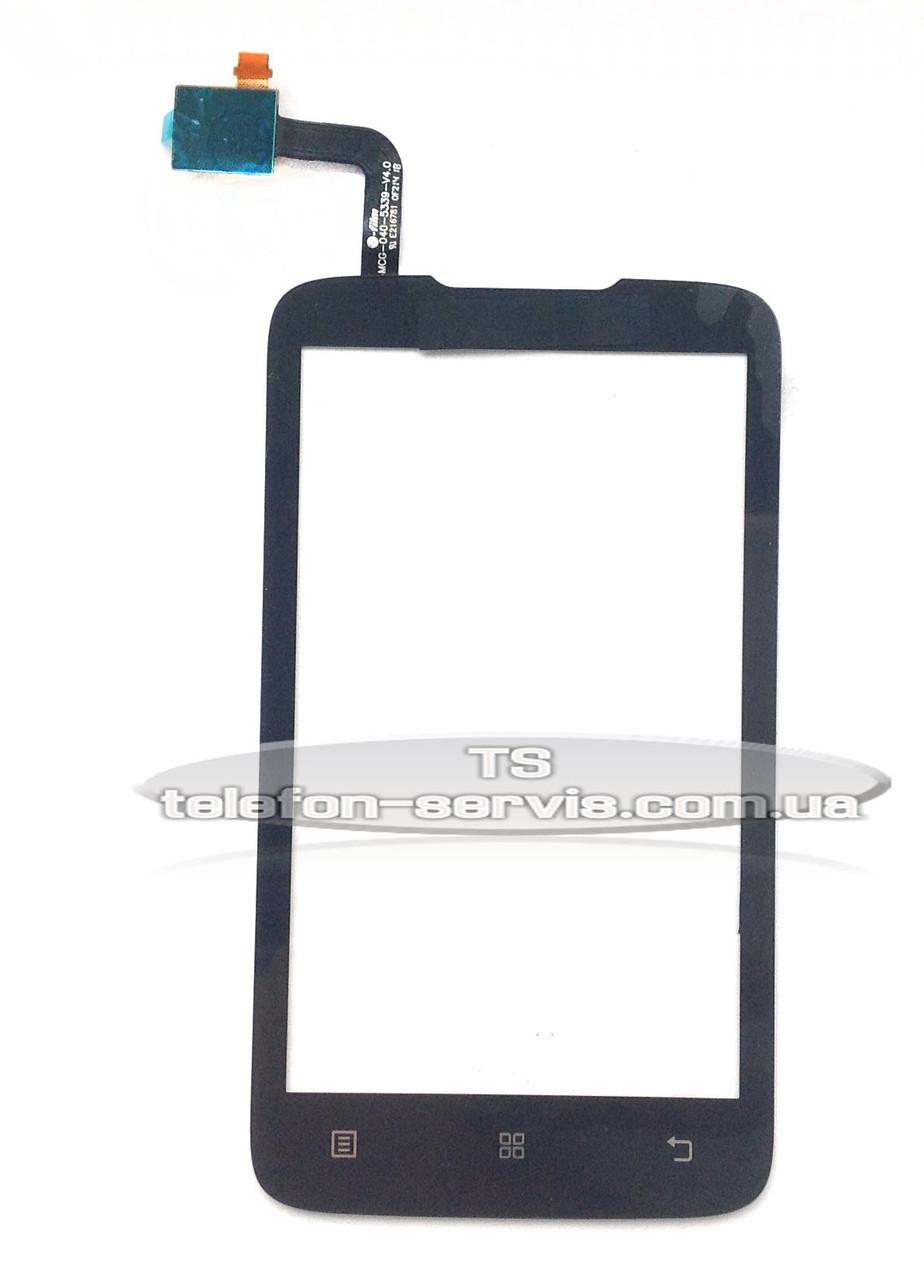 Сенсорный экран  Lenovo A316i, черный