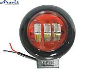 Дополнительные светодиодные фары 30W 9-32V 10LEDx3W круглая