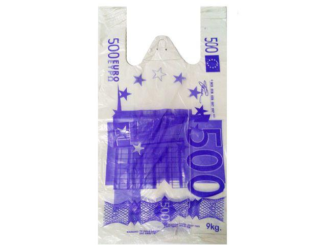 "Пакет полиэтиленовый Майка п\э (27*+2х6х50) ""Евро""Кривой Рог (100 шт)"