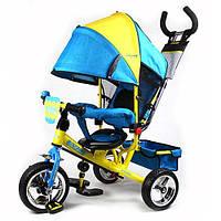 Велосипед M5363-01УКР сине желтый