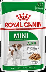 Вологий корм Royal Canin Mini Adult Роял Канін Міні Едалт 85 г