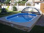 """Стационарный стекловолоконный усиленный бассейн """"Компакт"""" 4,0х2,8 глубиной 1,55м., фото 2"""