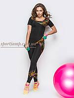 Спортивный костюм для фитнеса, тренажерного зала (женский) 42-48 р