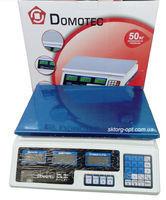 Весы Торговые DOMOTEC DT-809/ 4V/ 55KG//5G (5 шт/ящ)