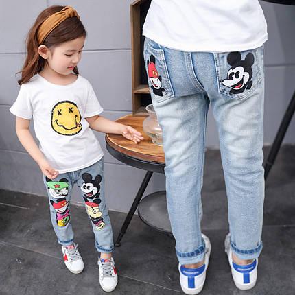 Детские джинсы с  кики маусом, фото 2