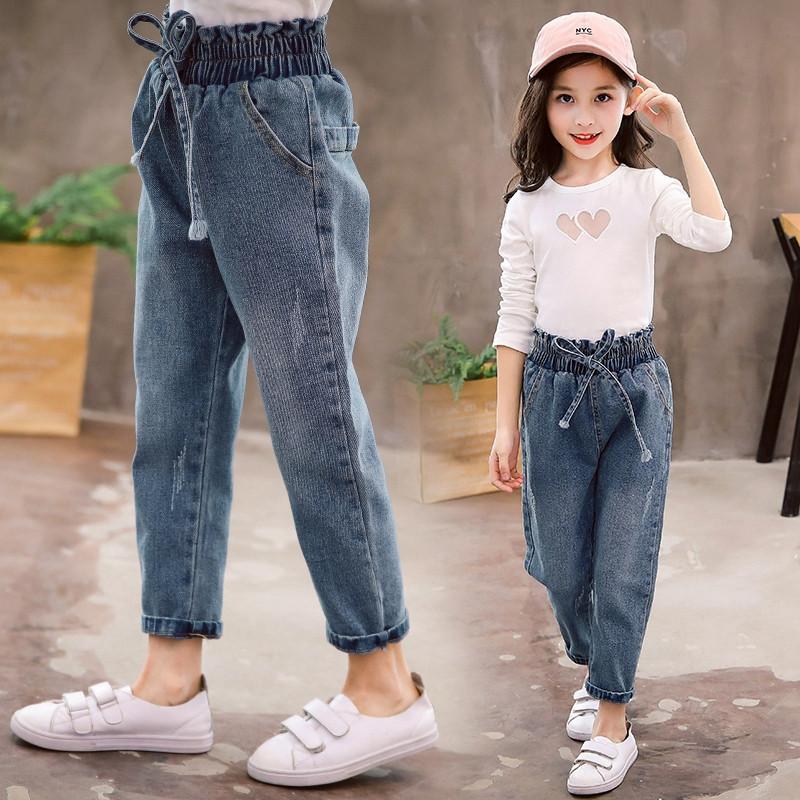 Детские джинсы на резинки