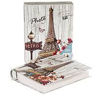 """Альбом для фотографий """"Гуляя по Парижу"""" (200 фото 10х15)"""