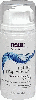Прогестерон натуральный, крем, Now Foods, Natural Progesterone Cream, 85грам