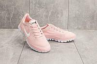Женские кроссовки текстильные летние розовые Classica G 7385 -11