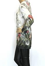 Шифоновая блузка туника, фото 3
