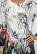 Шифоновая блузка туника, фото 2