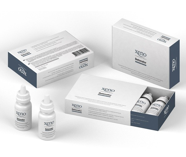 Cыворотка биостимулирующая для восстановления роста волос при облысении у мужчин Xeno Laboratory