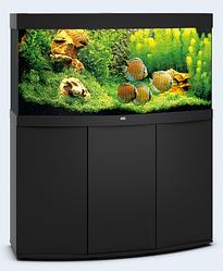 Акваріум середній Juwel (Джувел) VISION 260 LED з вигнутим склом, чорний 260 літрів