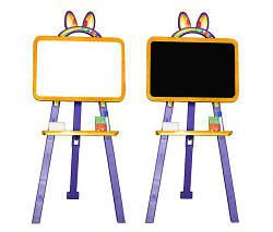Мольберт / доска для рисования (оранжево-фиолетовый)  scs