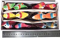 Птички на прищепке цветные, №15 (10 см. НАБОР - 12 шт.)