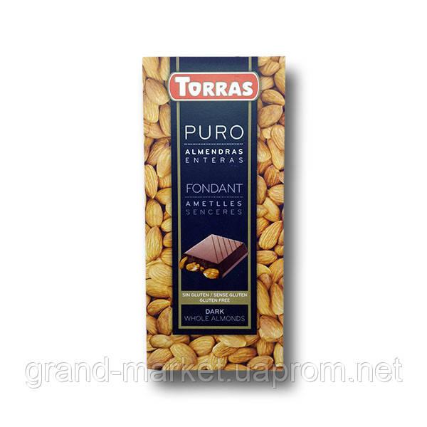 "Шоколад черный с миндалем "" Torras Puro "" 200 g"