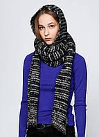Снуд женский DIESEL цвет черно-серый размер Универсальный арт 00CX3K-00QYQ-900A