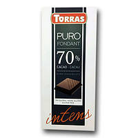 "Шоколад черный 70% какао "" Torras Puro Intens "" 200 g"