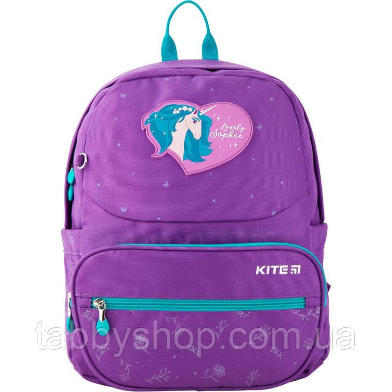 Рюкзак школьный ортопедический KITE Education 739S Lovely Sophie