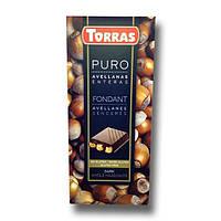 """Шоколад черный с фундуком """" Torras Puro """" 200 g"""