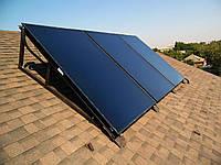 Крепления для солнечных батарей из стали
