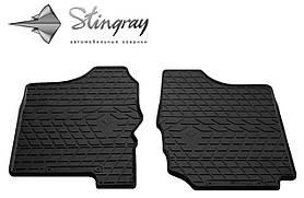 Передние резиновые коврики SUZUKI Jimny JB 1998- (2 шт) Stingray 1021052