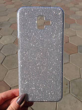 Чехол Samsung J6 Plus 2018 Silver Dust Dream