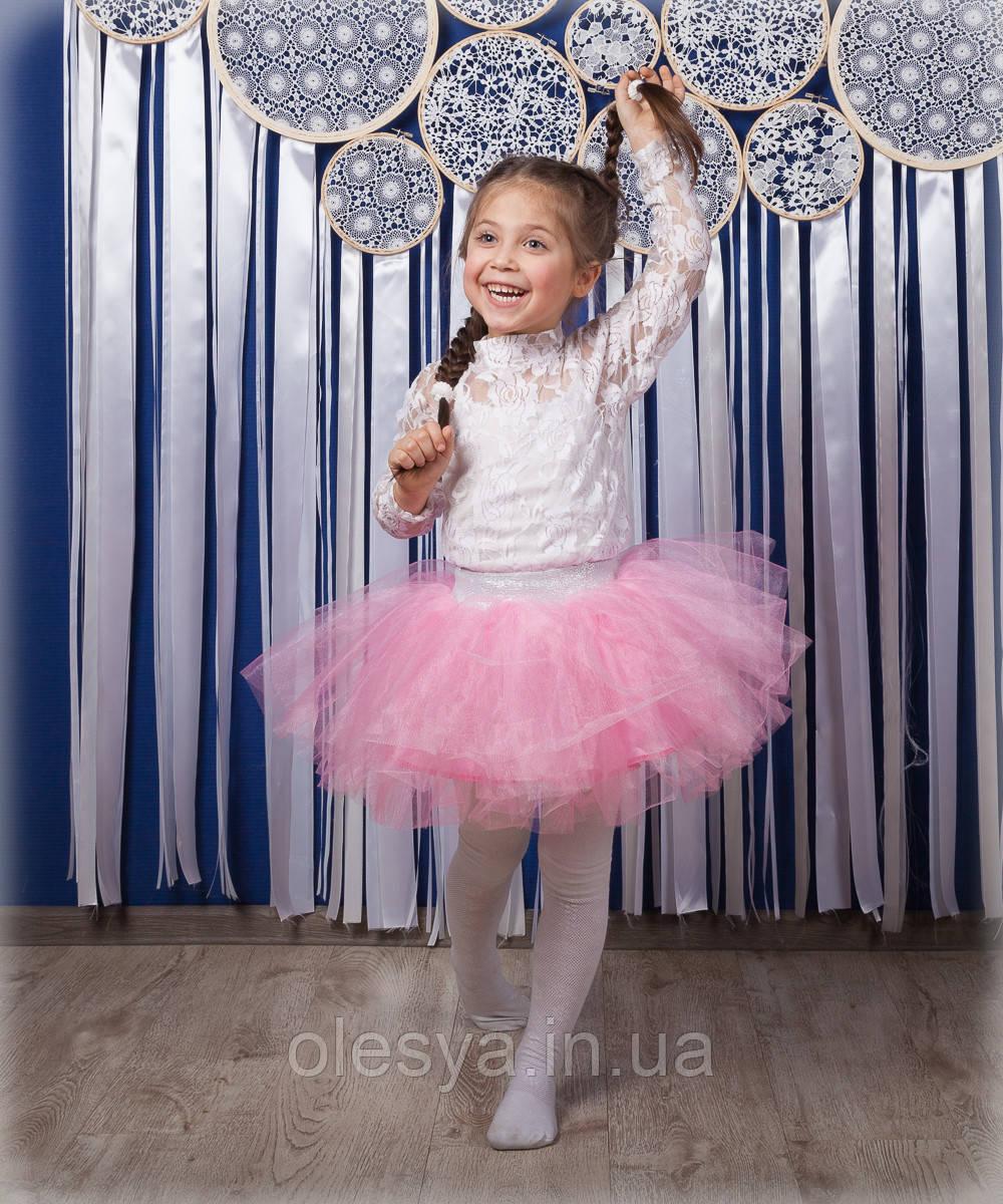 Детская пышная юбка