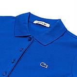 Lacoste 100% хлопок 5 пуговиц РАЗНЫЕ цвета женская футболка поло лакоста, фото 10