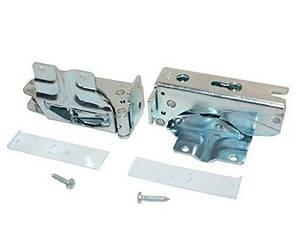 Комплект петель двери (2шт) (верхняя + нижняя) для холодильника Bosсh 492680