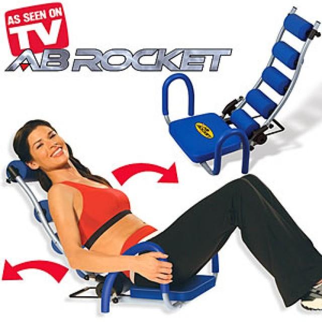 Тренажер для пресса  AB Rocket (Аб Рокет) - домашний тренажер для похудения