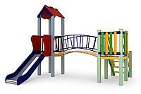 Дитячий комплекс Сонечко, висота гірки 0,9 м