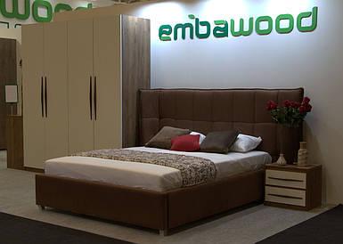 """Кровать """"Прайм"""" 160х200 с механизмом TM Embawood"""