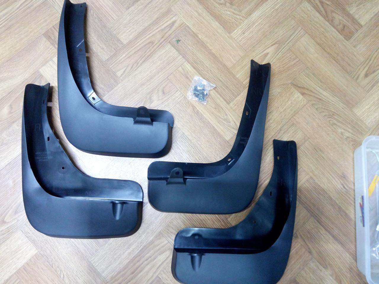 Комплект брызговиков 4 шт. INFINITi FX-35 2008-2013