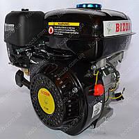 Двигатель бензиновый BIZON GX-220 170C 7.5 л.с. вал 20 мм шпонка (чёрный)
