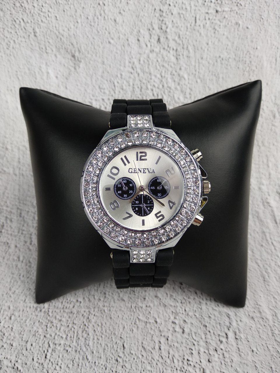 Часы женские GENEVA CRISTIS black