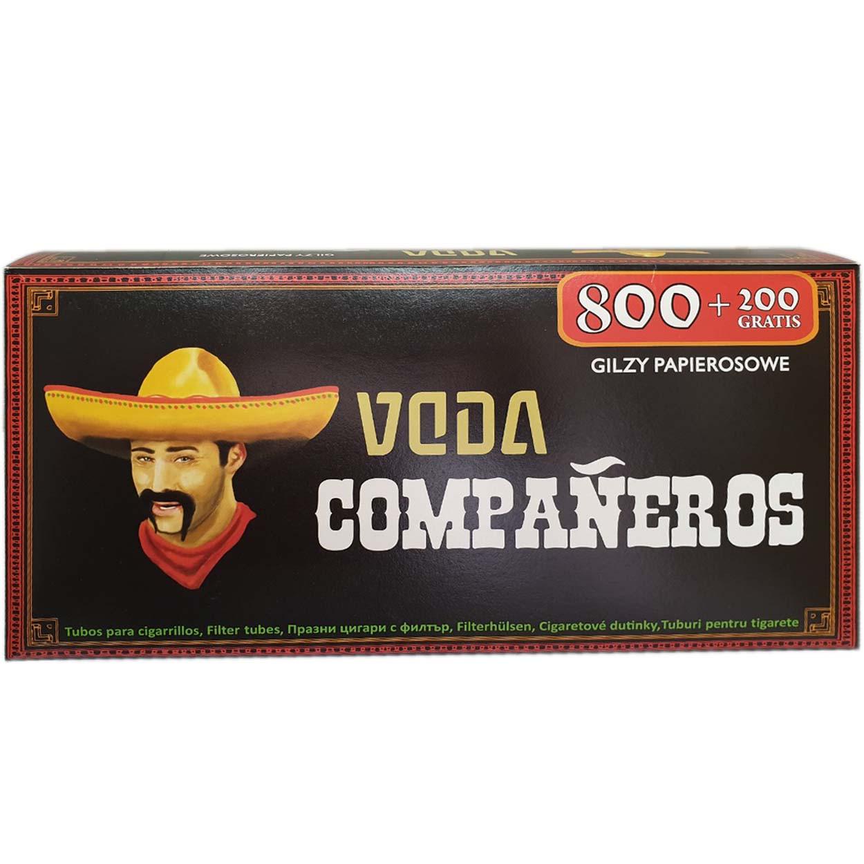 Сигаретные гильзыCompaneros1000шт.
