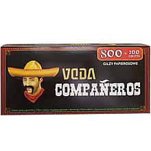 Сигаретные гильзы Companeros 1000 шт.