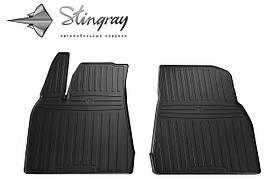 Передние резиновые коврики TESLA Model X 2015- Stingray (2шт/комп) 1050022