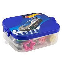 Пластилин Kite Hot Wheels HW19-080 в пластиковом боксе, 7 цветов + 8 инструментов, фото 1