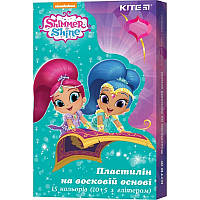 Пластилин восковой Kite Shimmer&Shine SH19-087, 15 цветов, 225 г
