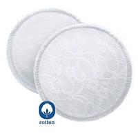 Лактационные прокладки для груди многоразовые для кормящих мам AVENT