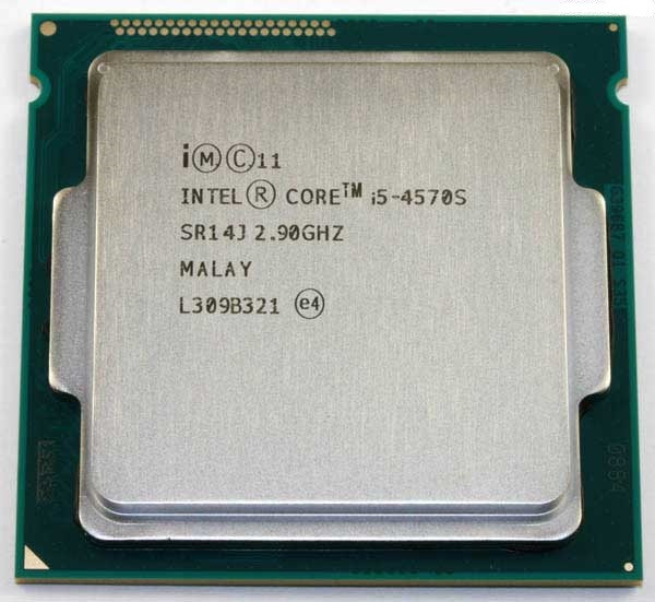 "Процессор Intel Core i5-4570S 2.90GHz/1MB/6MB (BX80646I54570S) s1150 BOX ""Over-Stock"" Б/У"