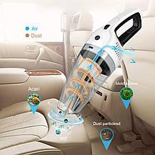 Автомобильный пылесос Еpzoee  12 В 120 Вт влажная / сухая  белый, фото 3