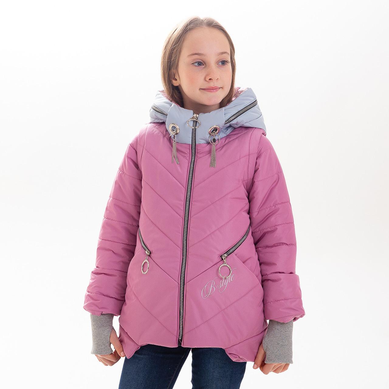 """Куртка демисезонная для девочки """"Баластиль"""", размер 32 - 42"""