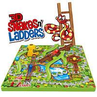 Настольная игра 3D Змеи и лестницы