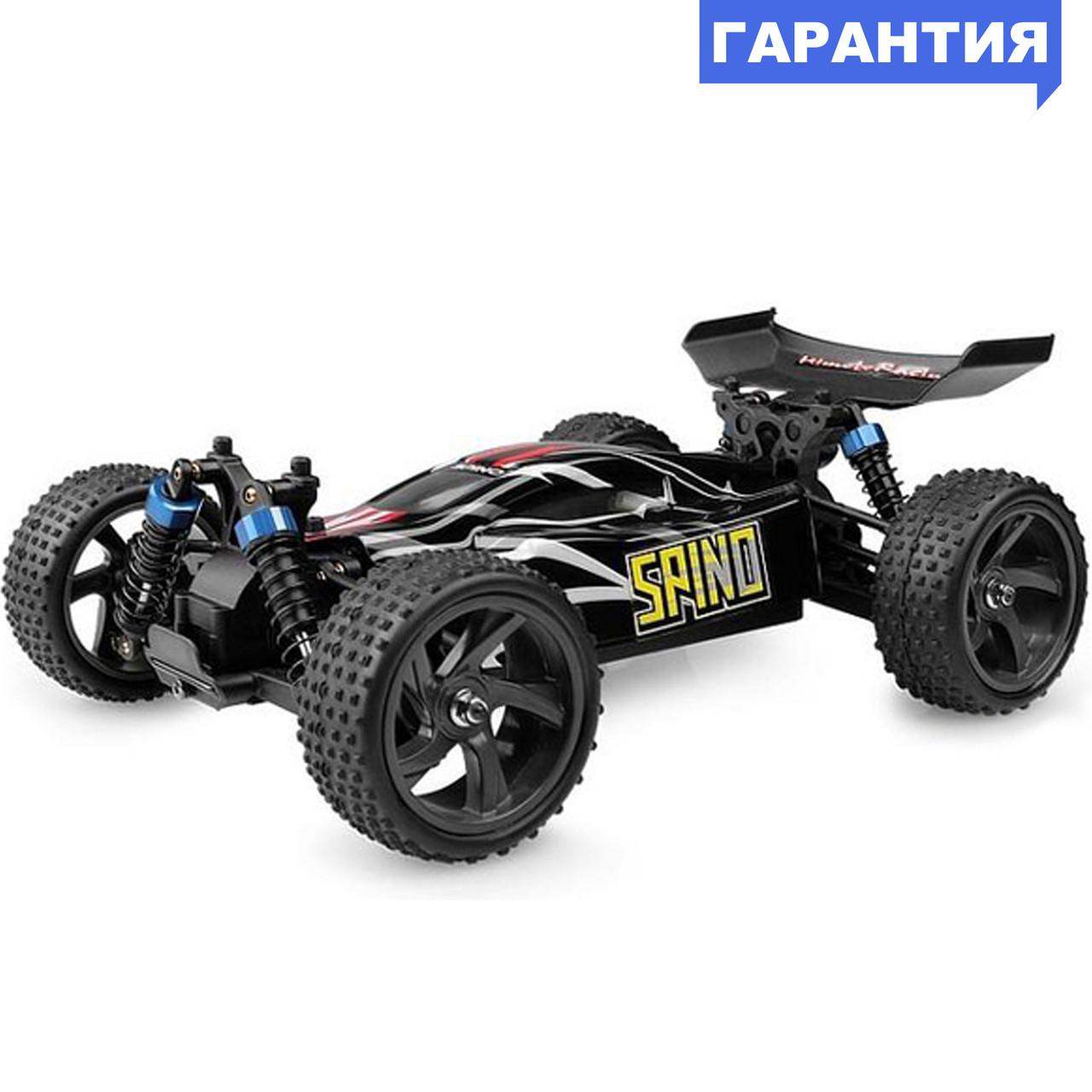 Багги 1:18 Himoto Spino E18XBL Brushless бесколлекторный (черный)
