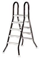 Лестница  Kripsol EEP 3+3 ступ.(для сборных наземных бассейнов h=1,0m)